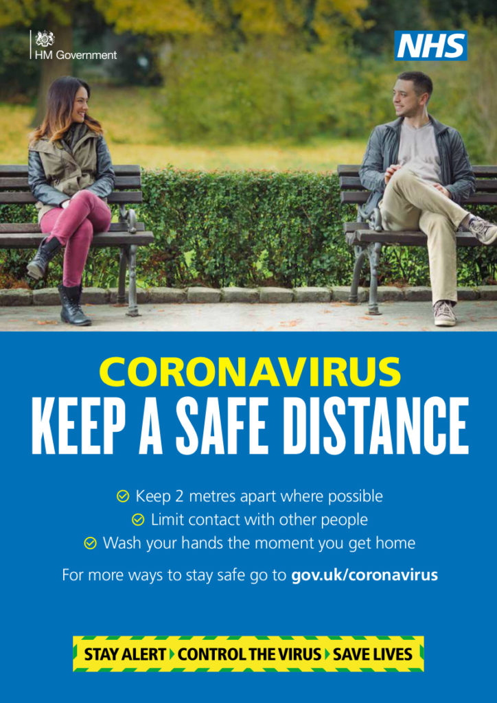 Coronavirus - Keep A Safe Distance